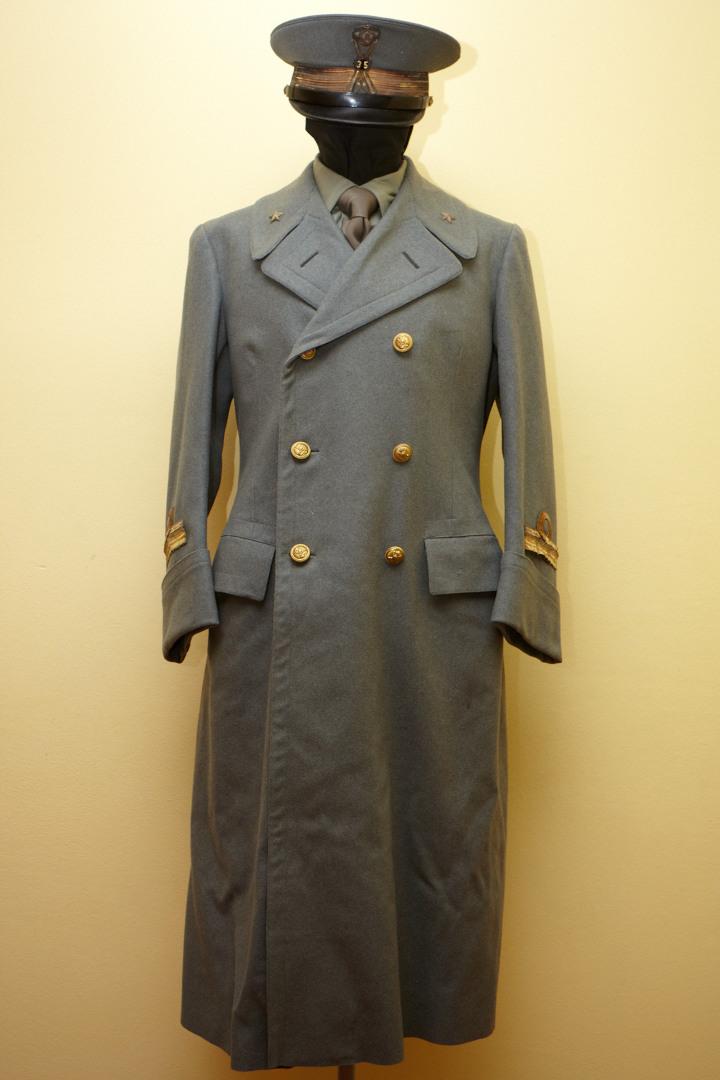 Il cappotto mod.34 da Ufficiale