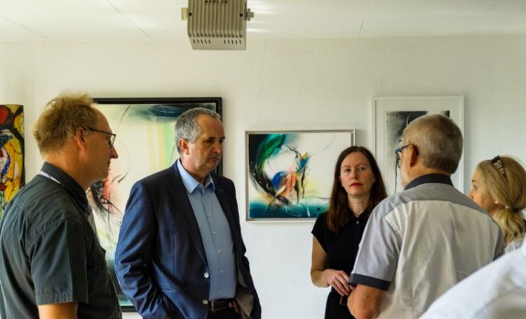 Staatsminister Thomas Schmidt zu Besuch im Schönburger Land