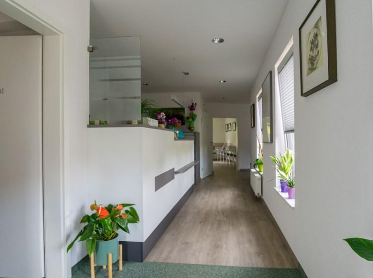 Praxis: Eingangsbereich