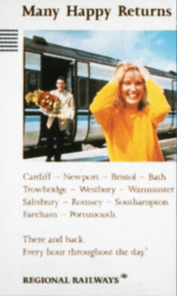 Many happy returns leaflet