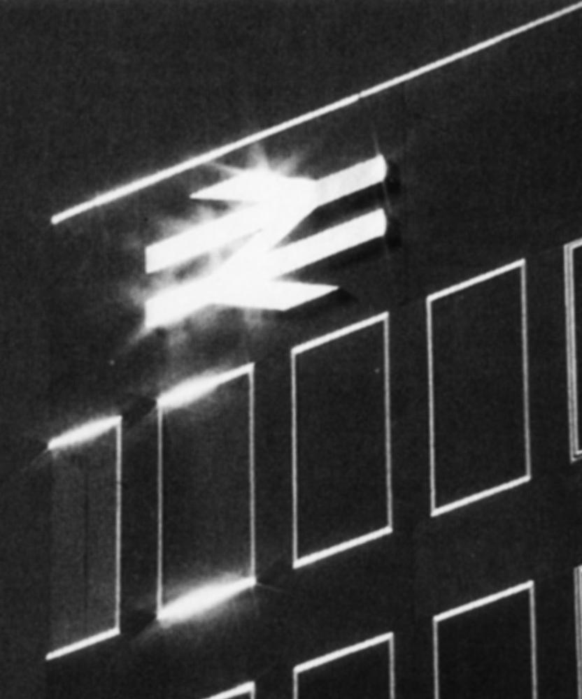 British Rail logo on a building