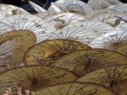 Umbrellas, Chiang Mai, Thailand
