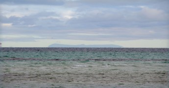 Mt Macedon from Port Phillip Bay