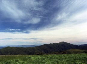 Mt Feathertop from Mt Hotham
