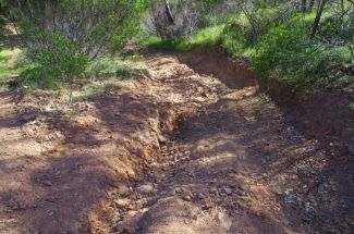 A new erosion hazard waiting to happen 1