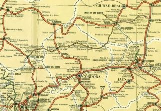 Líneas ferroviarias principales que vertebraban el territorio de Balutia