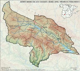 Distrito minero del Alto Guadiato, foco central del auge minero en Balutia