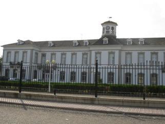 Antigua sede de la francesa SMMP (Sociedad Minero Metalúrgica de Peñarroya) que operaba en Balutia, además de en Linares, Cartagena-La Unión y Barcelona