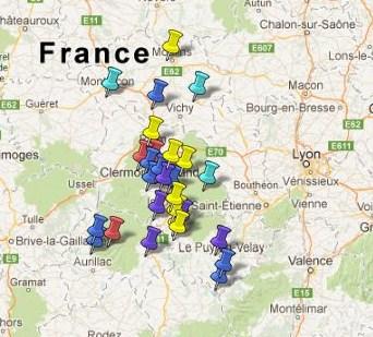Villes et Villages Classés Auvergne