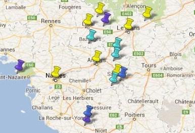 Villes et Villages Classés Pays de la Loire