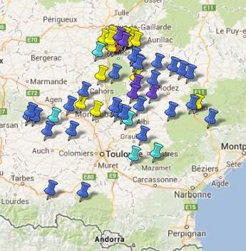 Villes et Villages Classés en Midi Pyrénées