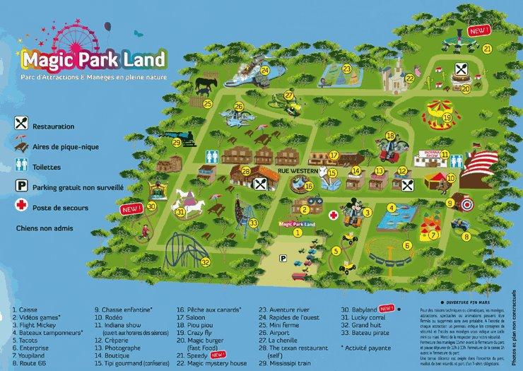 Magic Park Land
