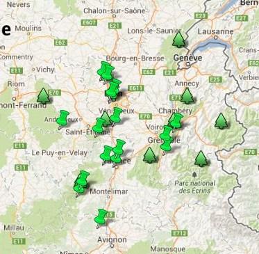 Jardins Rhône Alpes