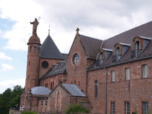 Mont St Odile Monastere, Alsace, France