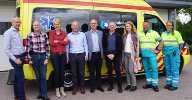 Patiëntgegevens vóór aankomst al bij Spoedeisende Hulp in Hardenberg