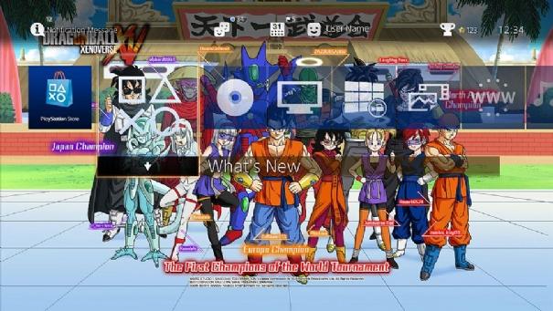 Dragon Ball Xenoverse recibe un tema gratuito para PlayStation 4