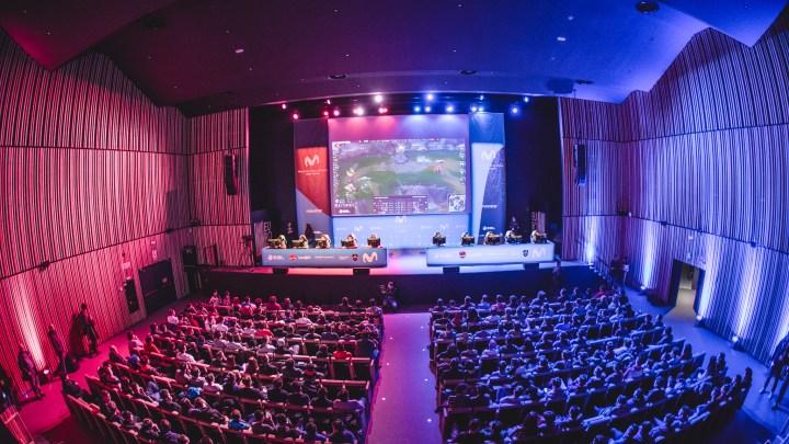 """""""Movistar eSports Arena"""" debuta en la Fan Zone de Movistar de la final de la Copa del Rey de ACB con gran éxito"""