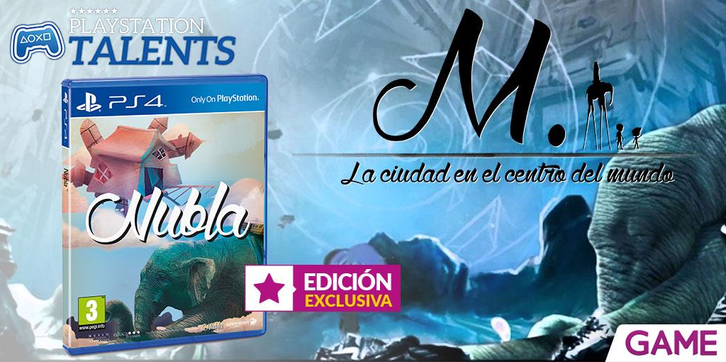 La versión física de Nubla para PlayStation 4 ya a la venta en exclusiva en tiendas GAME