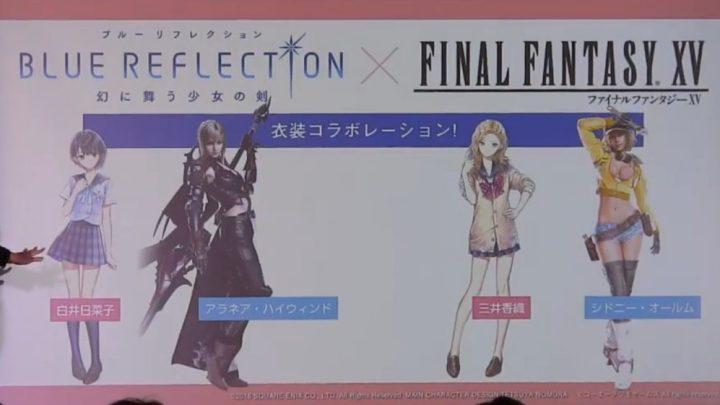 Final Fantasy XV estará presenta en Blue Reflection en forma de trajes personalizados | Nuevo tráiler