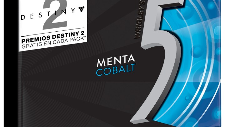Activision llega a un acuerdo de colaboración con 5 Gum para el lanzamiento de Destiny 2