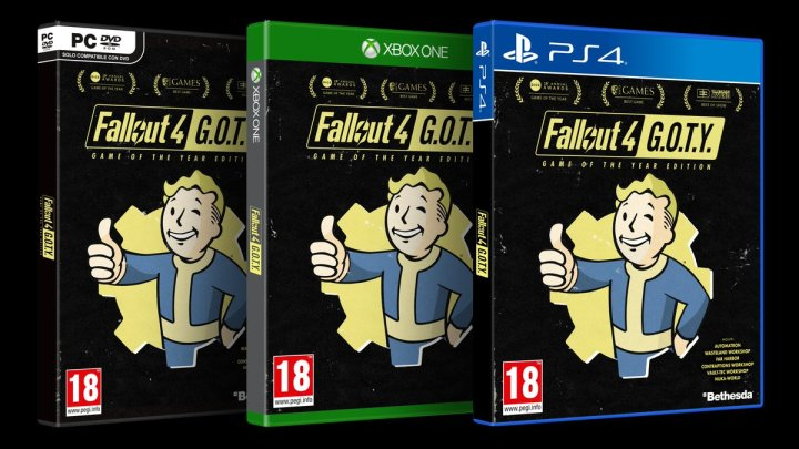 Fallout 4: Game of the Year Edition aterriza en PlayStation 4, PC y Xbox One