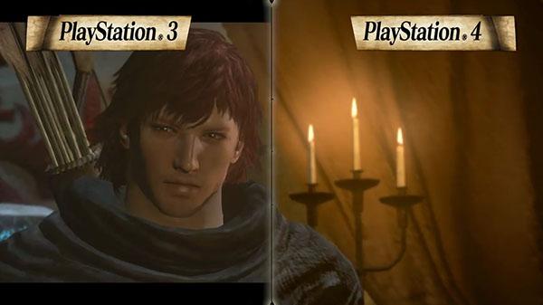 Comparativa gráfica entre las versiones de PS4 y PS3 de Dragon's Dogma: Dark Arisen