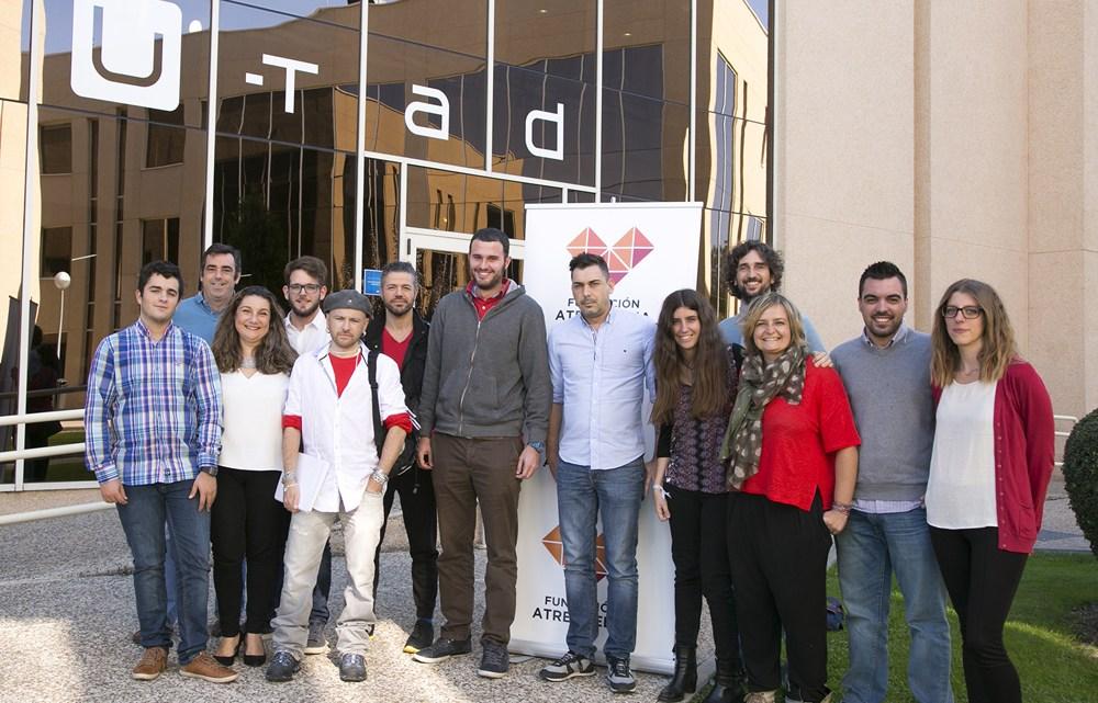 Los alumnos del Proyecto PRO de la Fundación Atresmedia comienzan su formación en animación 3D