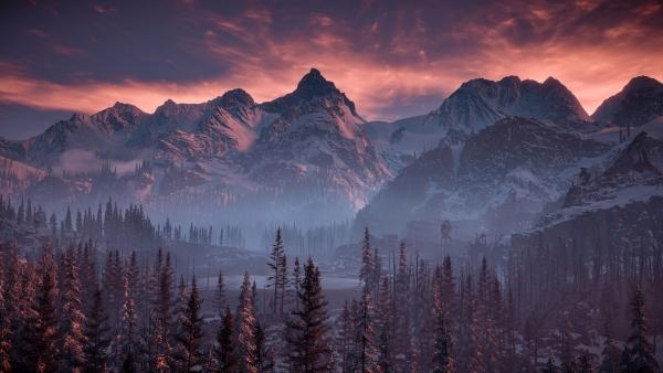 """Nuevas imágenes in-game de """"The Frozen Wilds"""" nos muestran la belleza de sus escenarios"""