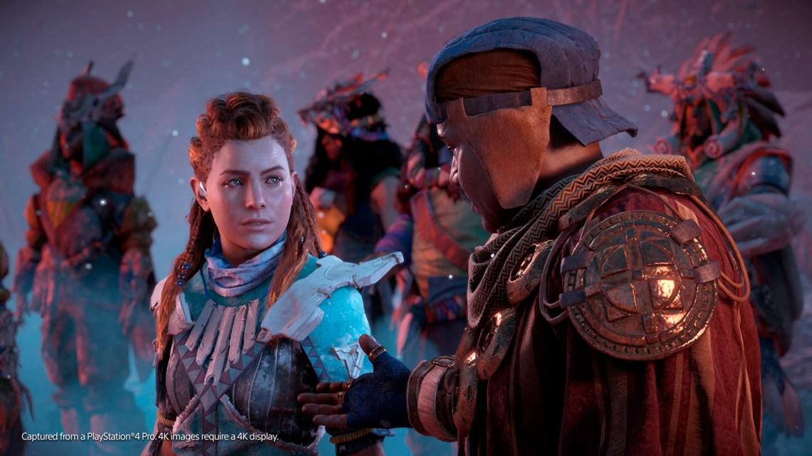 Horizon Zero Dawn: The Frozen Wilds ya disponible en exclusiva para PlayStation 4