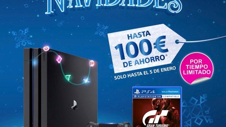PlayStation celebra la Navidad por todo lo alto con grandes descuentos en consolas y multitud de juegos