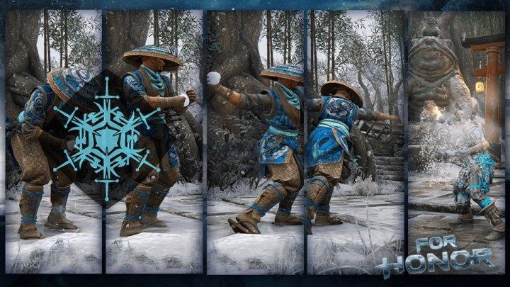 Nuevo emote invernal añadido en For Honor