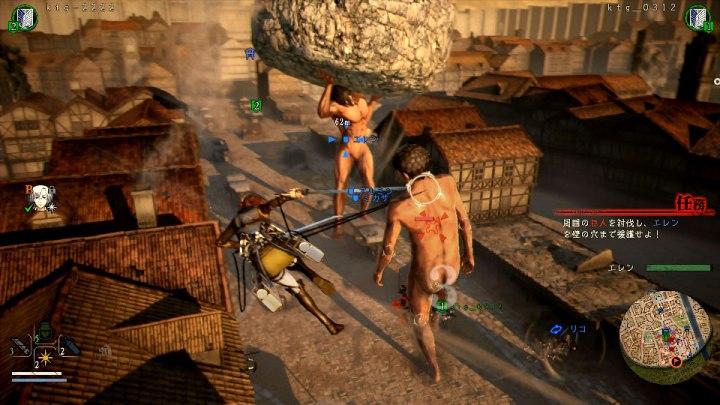 Disponible una demostración jugable de Attack on Titan 2: Final Battle en PlayStation Store