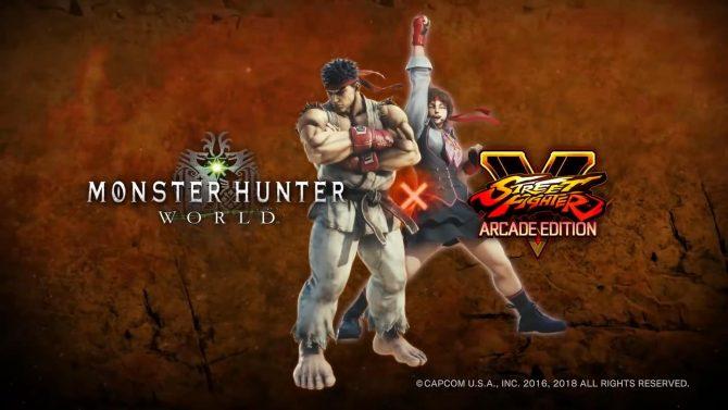 Anunciada una colaboración entre Monster Hunter World y Street Fighter V | Primer gameplay oficial