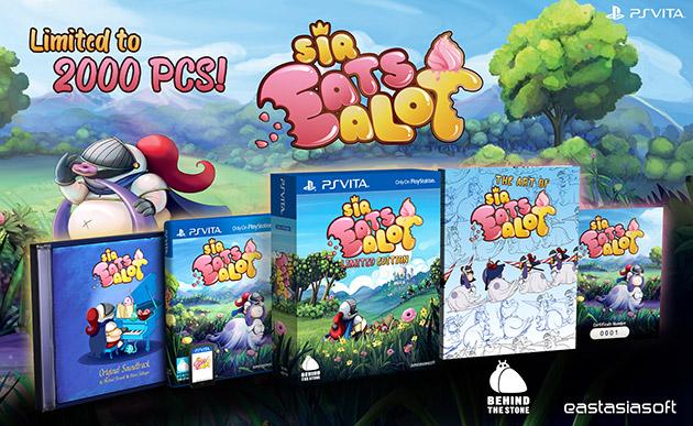 Sir Eatsalot, exclusivo de PS Vita, llega el próximo mes de abril en formato físico y digital