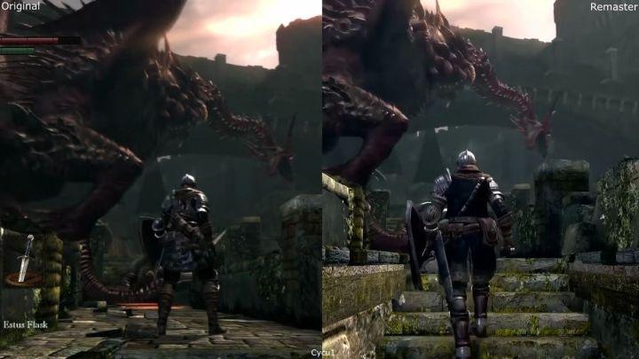 Nuevo gameplay compara las versiones de Dark Souls en Nintendo Switch y PlayStation 3