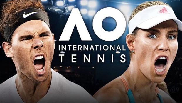 AO International Tennis recibe un nuevo parche