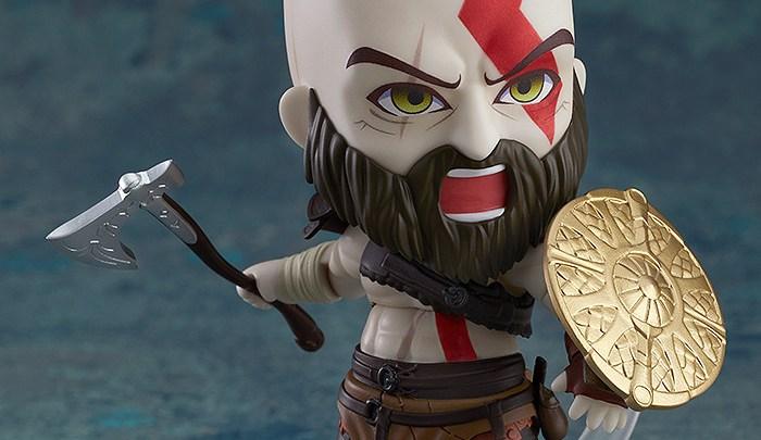 GoodSmile Company presenta el Nendoroid de Kratos