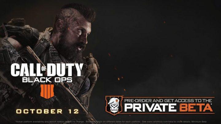 GameStop filtra el lanzamiento de una BETA de Call of Duty: Black Ops 4 para el mes de agosto