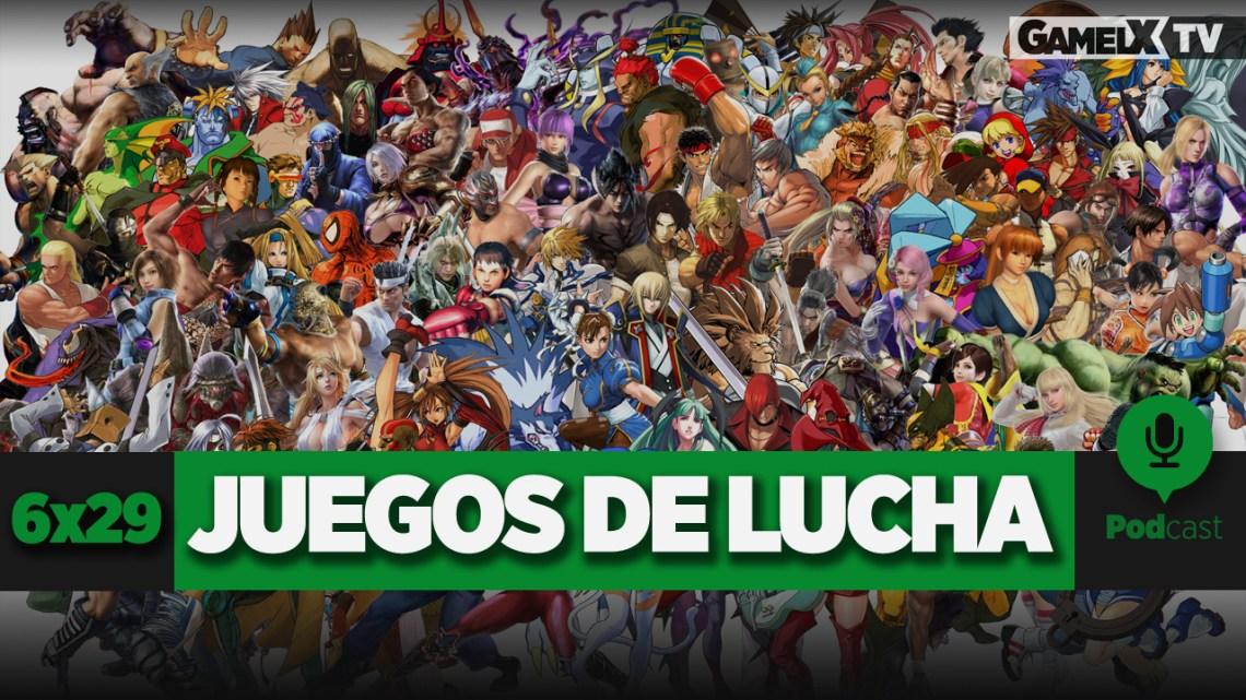 Podcast GameLX | 6×29 – Especial juegos de lucha