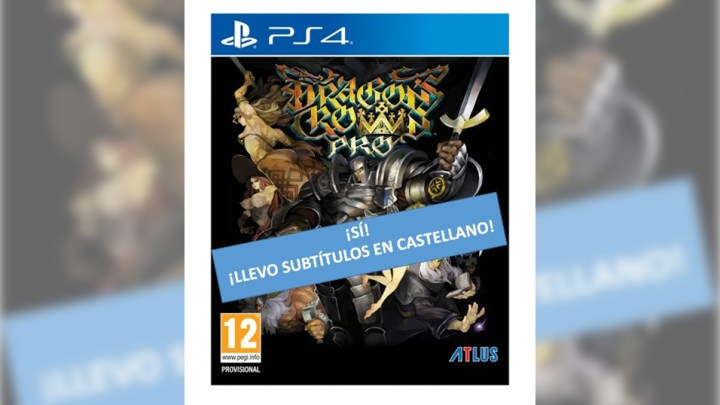 Koch Media confirma que Dragon's Crown Pro lleva subtítulos en castellano