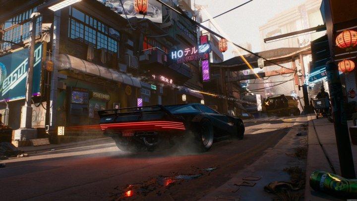 Cyberpunk 2077 incluirá un garaje para guardar los vehículos