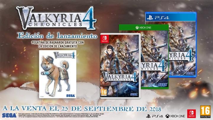 Confirmada la fecha de lanzamiento de Valkyria Chronicles 4 para PS4, Xbox One y Switch | Descubre los bonos por su reserva