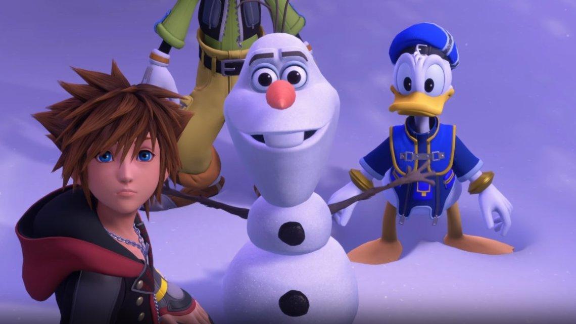 Kingdom Hearts III modificará la voz de Olaf por el arresto de su actor de doblaje