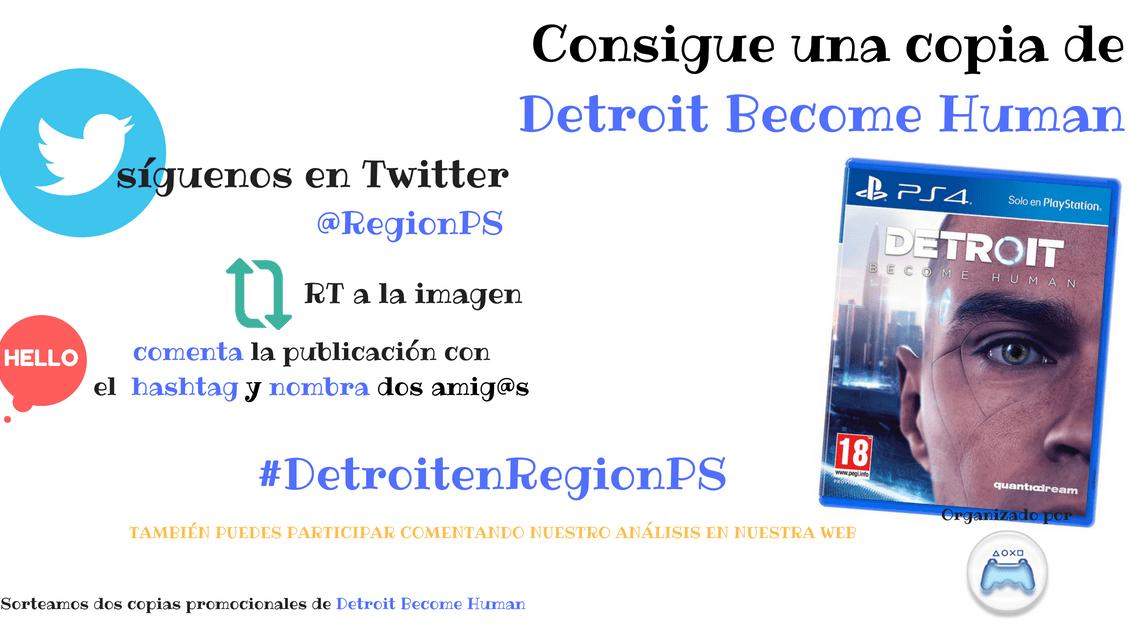 ¡Sorteamos dos copias de Detroit: Become Human!