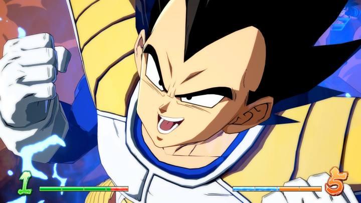 Dragon Ball FighterZ | Primeros vídeos de Goku y Vegeta en forma base