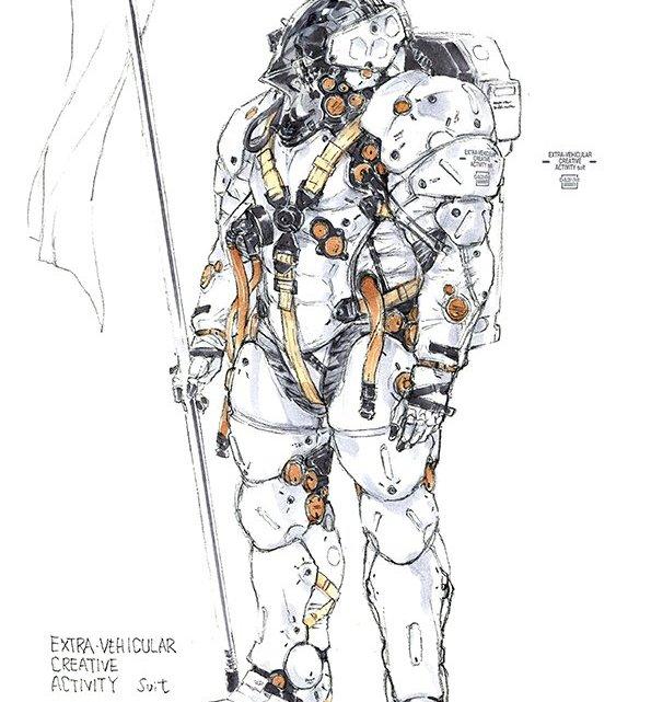 Ludens, la mascota de Kojima Productions fue concebida hace más de 20 años