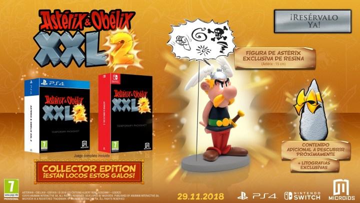 Asterix & Obelix XXL 2 confirma su lanzamiento en PS4, Xbox One y Switch | Presentadas las ediciones especiales