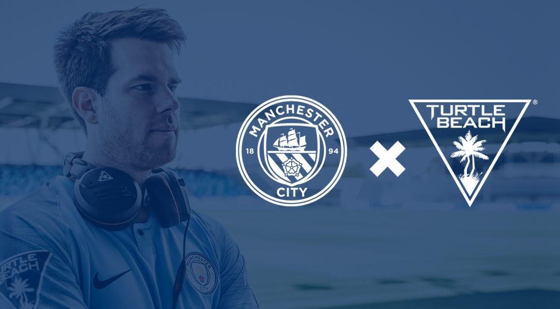 Turtle Beach firma un acuerdo de eSports con el Manchester City