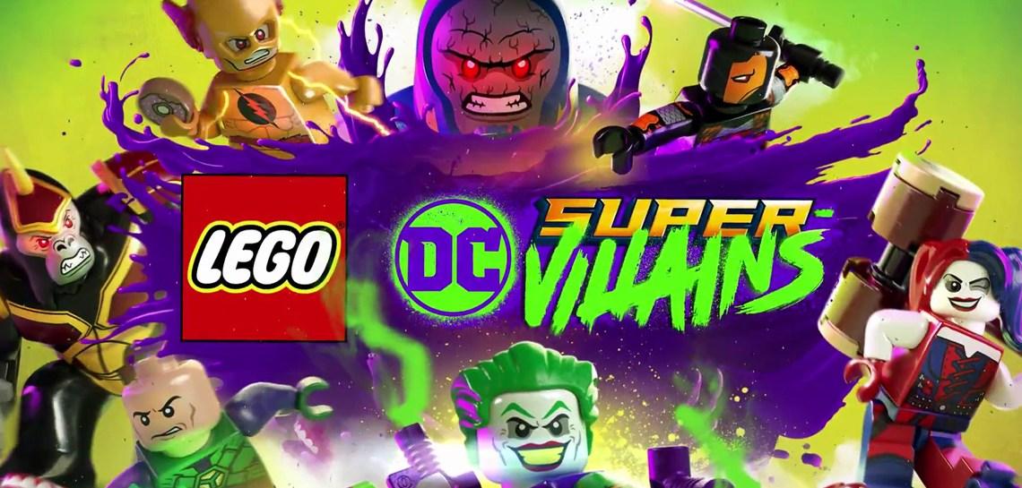 Warner Bros presenta un nuevo tráiler de LEGO DC Súper-Villanos