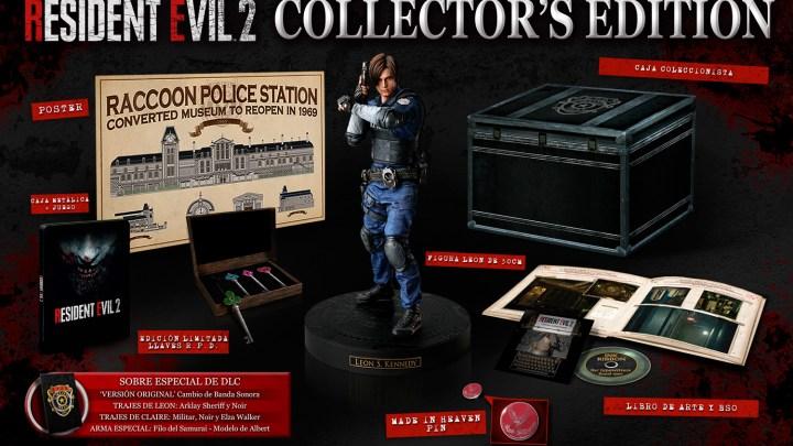 Anunciada la Edición Coleccionista de Resident Evil 2 que llegará a Europa
